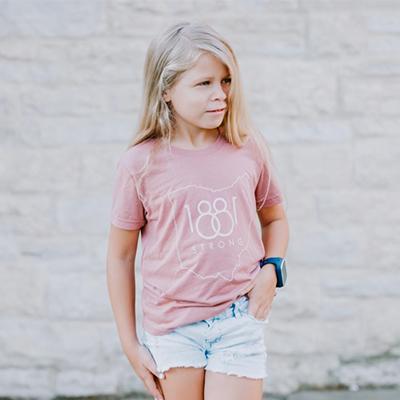Mauve Youth unisex T-shirt