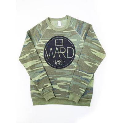 Emblem – Alternative Crew Fleece Pullover – camo